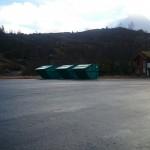 Ny plassering av søppelcontainere