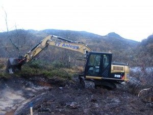 TT Anlegg er i god gang.